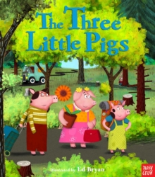 Fairy Tales: The Three Little Pigs, Paperback Book