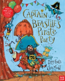 Captain Beastlie's Pirate Party, Paperback Book