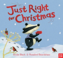 Just Right for Christmas, Board book Book