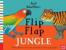 Axel Scheffler's Flip Flap Jungle, Hardback Book