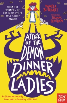 Attack of the Demon Dinner Ladies, Paperback Book