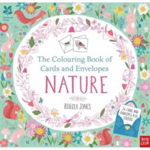 National Trust: The Colouring Book of Cards and Envelopes - Nature, Paperback Book
