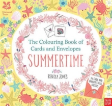 National Trust: The Colouring Book of Cards and Envelopes - Summertime, Paperback Book