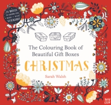 The Colouring Book of Beautiful Gift Boxes: Christmas, Paperback Book