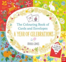 National Trust: The Colouring Book of Cards and Envelopes: A Year of Celebrations, Paperback / softback Book