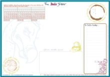 The Dodo Jotter Pad - B5 Desk Sized Jotter-Scribble-Doodle-to-do-List-Tear-off-Notepad, Loose-leaf Book