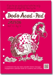 Dodo Acad-Pad Filofax-Compatible A5 Diary Refill 2015 - 2016 Week to View Academic Mid Year Diary : A Combined Mid-Year Diary-Doodle-Memo-Message-Engagement-Calendar-Book for Students, Teachers and Sc, Loose-leaf Book