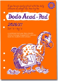 Dodo Acad-Pad 2016 - 2017 Filofax-Compatible A5 Organiser Diary Refill, Mid Year / Academic Year, Week to View : A Doodle-Memo-Message-Engagement-Calendar-Organiser-Planner for Students and Teachers, Diary Book