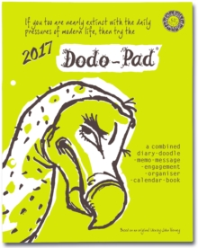 Dodo Pad Loose-Leaf Desk Diary 2017 - Week to View Calendar Year Diary : A Family Diary-Doodle-Memo-Message-Engagement-Organiser-Calendar-Book with Room for Up to 5 People's Appointments/Activities, Diary Book