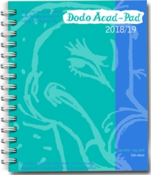 Dodo Mini Acad-Pad 2018-2019 Pocket Mid Year Diary, Academic Year, Week to View : A mid-year diary-doodle-memo-message-engagement-calendar-organiser-planner book for students & teachers, Diary Book