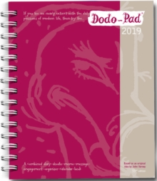 Dodo Pad Mini / Pocket Diary 2019 - Week to View Calendar Year : A Portable Diary-Doodle-Memo-Message-Engagement-Organiser-Calendar-Book with room for up to 5 people's appointments/activities, Diary Book