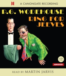 Ring For Jeeves, CD-Audio Book