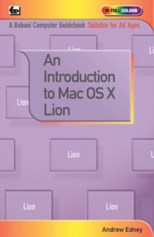 An Introduction to Mac OS X Lion, Paperback Book