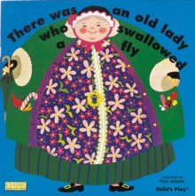 There Was an Old Lady Who Swallowed a Fly, Board book Book
