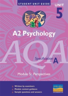 A2 Psychology AQA (A) : Individual Differences Unit 5, Paperback Book