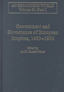 Government and Governance of European Empires, 1450-1800 (2 volumes), Hardback Book
