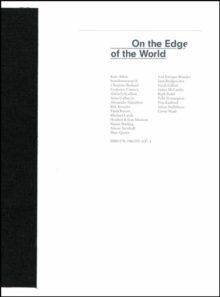 On the Edge of the World, Paperback / softback Book