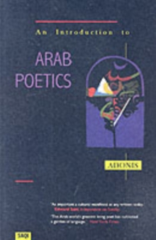 An Introduction to Arab Poetics, Paperback / softback Book