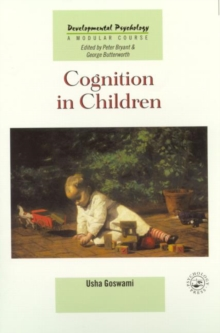 Cognition In Children, Paperback Book