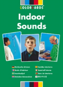 Listening Skills Indoor Sounds: Colorcards, Cards Book