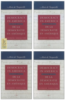 Democracy in America: 4-Volume Set : Bilingual Edition, Paperback / softback Book