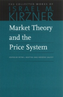 Market Theory & the Price System, Paperback / softback Book