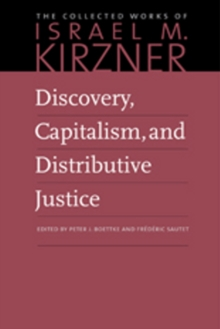 Discovery, Capitalism, and Distributive Justice, Paperback / softback Book