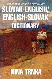 Slovak-English / English-Slovak Concise Dictionary, Paperback Book