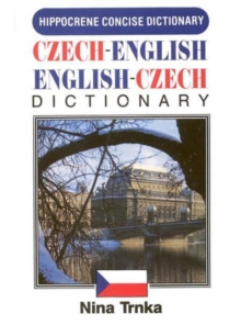 Czech-English / English-Czech Concise Dictionary, Paperback Book