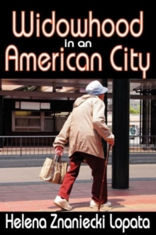 Widowhood in an American City, Paperback / softback Book