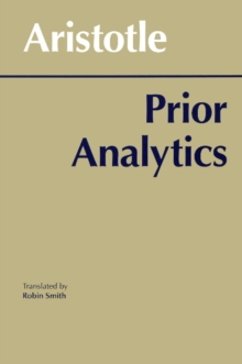 Prior Analytics, Paperback / softback Book