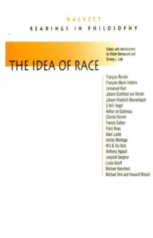 The Idea of Race : Readings in Philosophy, Paperback Book