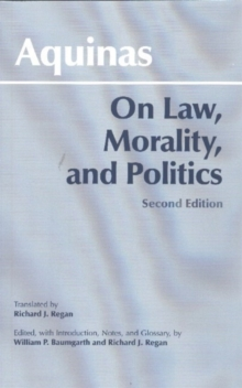 On Law, Morality, and Politics, Paperback Book