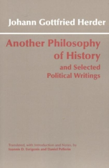 Another Philosophy of History and Selected Political Writings, Paperback Book