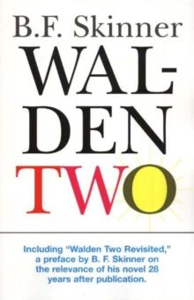 Walden Two, Paperback Book