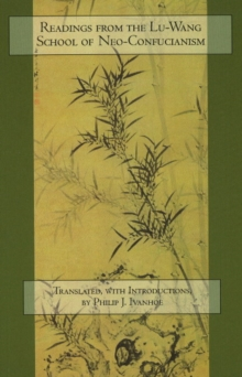 Readings from the Lu-Wang School of Neo-Confucianism, Paperback Book