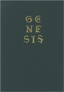 Genesis : William Blake's Last Illuminated Work, Hardback Book