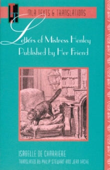 Letters of Mistress Henley Published by Her Friend, Paperback / softback Book