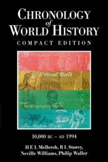 Chronology of World History, Hardback Book