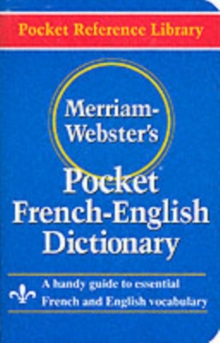 Merriam Webster Pocket French-English Dictionary, Paperback / softback Book