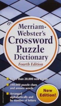 Merriam Webster's Crossword Puzzle Dictionary, Paperback / softback Book