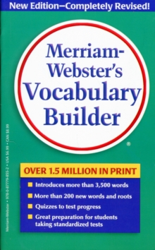 M-W Vocabulary Builder, Paperback / softback Book