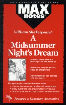 MAXnotes Literature Guides: Midsummer Night's Dream, Paperback / softback Book