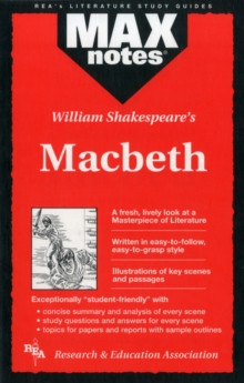 MAXnotes Literature Guides: Macbeth, Paperback / softback Book