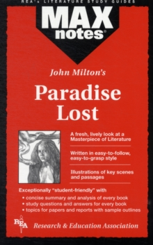 MAXnotes Literature Guides: Paradise Lost, Paperback / softback Book