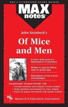 MAXnotes Literature Guides: Of Mice and Men, Paperback / softback Book