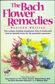 The Bach Flower Remedies, Paperback Book