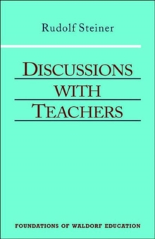 Discussions with Teachers, Paperback Book