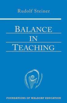 Balance in Teaching, Paperback Book