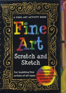 Scratch and Sketch Fine Art, Hardback Book